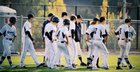 Interlake Saints Boys Varsity Baseball Spring 14-15 team photo.