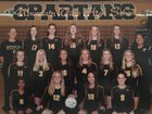 Mountain View Spartans Girls JV Volleyball Fall 16-17 team photo.