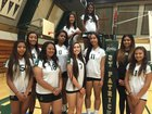 St. Patrick-St. Vincent Bruins Girls JV Volleyball Fall 16-17 team photo.