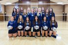 Stone Ridge Christian Knights Girls JV Volleyball Fall 16-17 team photo.
