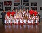 Cardinal Newman Cardinals Girls Varsity Basketball Winter 14-15 team photo.