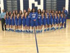 San Dimas Saints Girls Varsity Basketball Winter 14-15 team photo.
