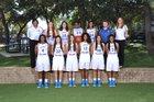 Anderson Trojans Girls Varsity Basketball Winter 14-15 team photo.