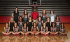 Marcus Marauders Girls Varsity Basketball Winter 14-15 team photo.