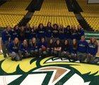 Bonneville Lakers Girls Varsity Basketball Winter 14-15 team photo.