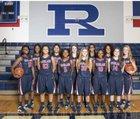 Richland Rebels Girls Varsity Basketball Winter 14-15 team photo.