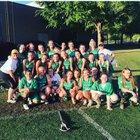 Myers Park Mustangs Girls JV Lacrosse Spring 18-19 team photo.