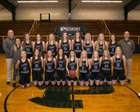 Piedmont Academy Cougars Girls Varsity Basketball Winter 18-19 team photo.