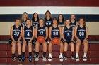 Riverton Parke Panthers Girls Varsity Basketball Winter 18-19 team photo.