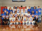Fountain-Fort Carson Trojans Girls Varsity Basketball Winter 18-19 team photo.