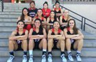 'Iolani Raiders Girls Varsity Basketball Winter 18-19 team photo.