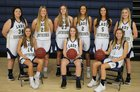 Southside Southerners Girls Varsity Basketball Winter 18-19 team photo.