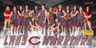 Central Warriors Girls Varsity Basketball Winter 18-19 team photo.