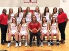 Northwest Indians Girls Varsity Basketball Winter 18-19 team photo.