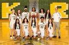 Kentridge Chargers Girls Varsity Basketball Winter 18-19 team photo.