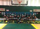 Nova Titans Girls Varsity Basketball Winter 18-19 team photo.
