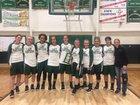 Animas Panthers Girls Varsity Basketball Winter 18-19 team photo.