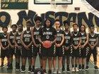 Morrow Mustangs Girls Varsity Basketball Winter 18-19 team photo.