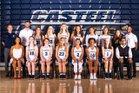 Casteel Colts Girls Varsity Basketball Winter 18-19 team photo.
