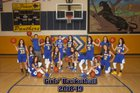 Penasco Panthers Girls Varsity Basketball Winter 18-19 team photo.