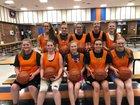 HEM Miners Girls Varsity Basketball Winter 18-19 team photo.