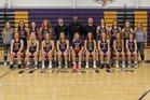 Wahpeton Huskies Girls Varsity Basketball Winter 18-19 team photo.