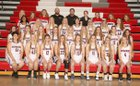 Cozad Haymakers Girls Varsity Basketball Winter 18-19 team photo.