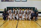 Satanta Indians Girls Varsity Basketball Winter 18-19 team photo.