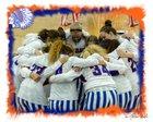 Whiteland Warriors Girls Varsity Basketball Winter 18-19 team photo.