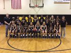 Pontotoc Warriors Girls Varsity Basketball Winter 18-19 team photo.