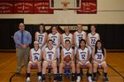 Tupper Lake Lumberjacks Girls Varsity Basketball Winter 18-19 team photo.