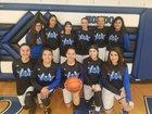 Hondo Valley Eagles Girls Varsity Basketball Winter 18-19 team photo.