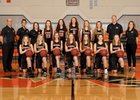Washougal Panthers Girls Varsity Basketball Winter 18-19 team photo.