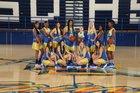 San Dimas Saints Girls Varsity Basketball Winter 18-19 team photo.