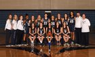 Mullen Mustangs Girls Varsity Basketball Winter 18-19 team photo.