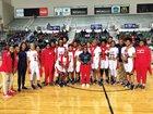 Lee Patriots Girls Varsity Basketball Winter 18-19 team photo.
