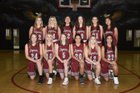 Desert Ridge Jaguars Girls Varsity Basketball Winter 18-19 team photo.