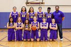 Oak Harbor Wildcats Girls Varsity Basketball Winter 18-19 team photo.