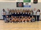 Copper Hills Grizzlies Girls Varsity Basketball Winter 18-19 team photo.
