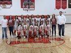 Loving Falcons Girls Varsity Basketball Winter 18-19 team photo.