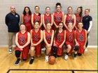 Draper APA  Girls Varsity Basketball Winter 18-19 team photo.