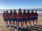 La Salle Falcons Girls Varsity Basketball Winter 18-19 team photo.