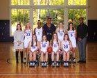 King's Ridge Christian Tigers Girls Varsity Basketball Winter 18-19 team photo.