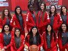 Imperial Tigers Girls Varsity Basketball Winter 18-19 team photo.