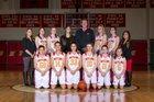 Skyline Falcons Girls Varsity Basketball Winter 18-19 team photo.