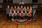 Pomeroy Pirates Girls Varsity Basketball Winter 18-19 team photo.