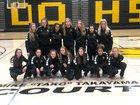 Del Oro Golden Eagles Girls Varsity Basketball Winter 18-19 team photo.