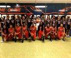 Ridgeway Roadrunners Girls Varsity Basketball Winter 18-19 team photo.