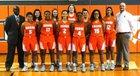 Boone Braves Girls Varsity Basketball Winter 18-19 team photo.