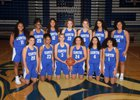 Curtis Vikings Girls Varsity Basketball Winter 18-19 team photo.